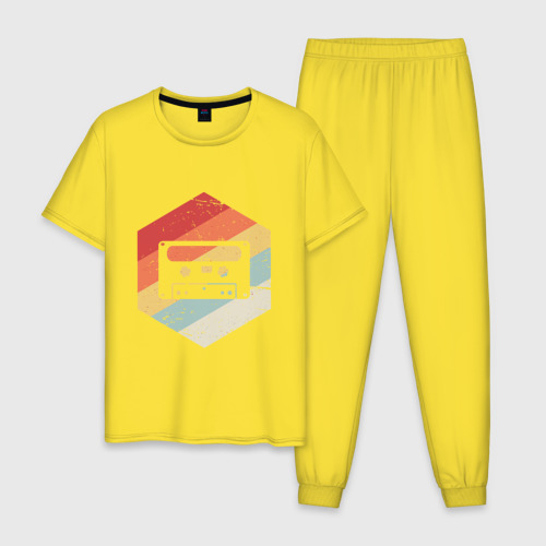 Мужская пижама хлопок Кассета Фото 01