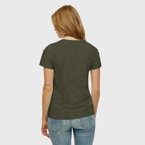 Женская футболка хлопок Кассета Фото 01