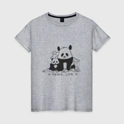 Panda, Peace, Life