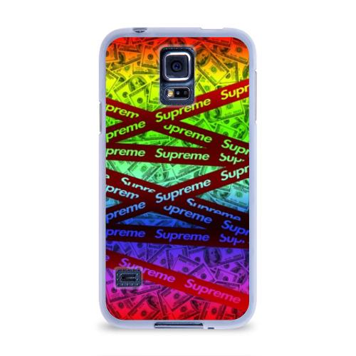Чехол для Samsung Galaxy S5 силиконовый  Фото 01, SUPREME