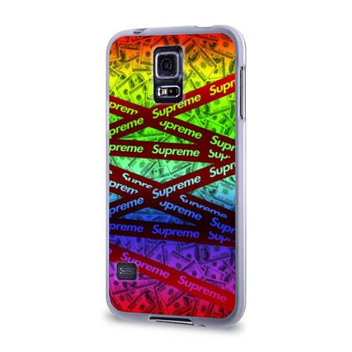 Чехол для Samsung Galaxy S5 силиконовый  Фото 03, SUPREME