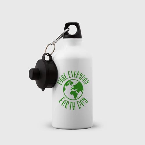 Бутылка спортивная День Земли Фото 01