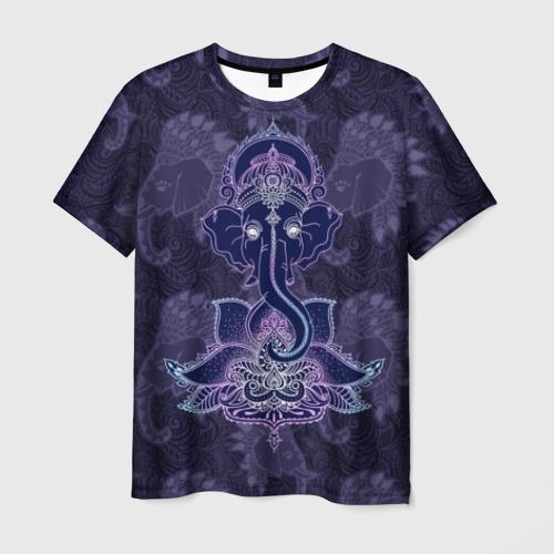 Мужская футболка 3D Ганеша