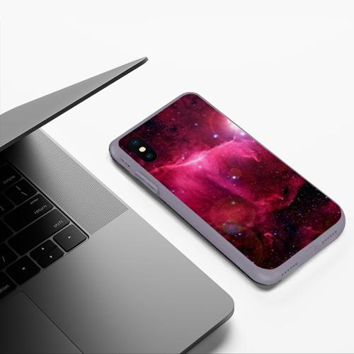 Чехол для iPhone XS Max матовый Cosmos Фото 01