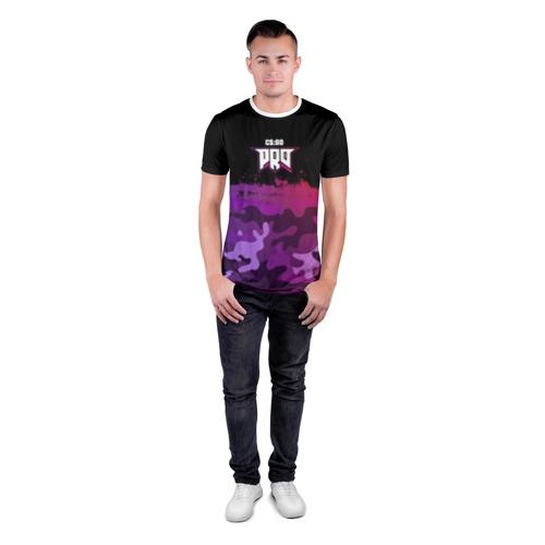 Мужская футболка 3D спортивная pro100 Фото 01