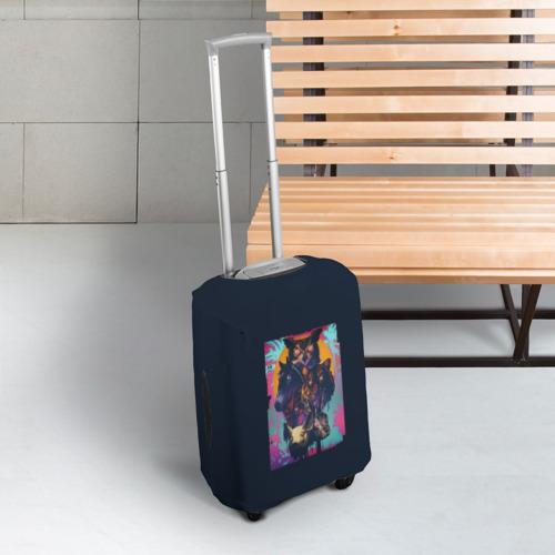 Чехол для чемодана 3D Hotline Miami Фото 01