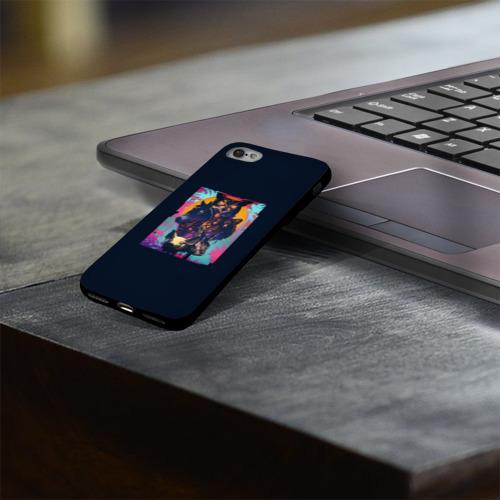 Чехол для Apple iPhone 8 силиконовый глянцевый Hotline Miami Фото 01