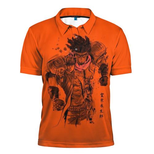 Мужская рубашка поло 3D JoJo Bizarre Adventure