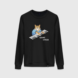 IT CROWD 8 bit cat