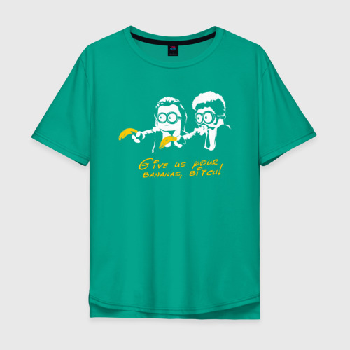 Мужская футболка хлопок Oversize Банановая мафия Фото 01
