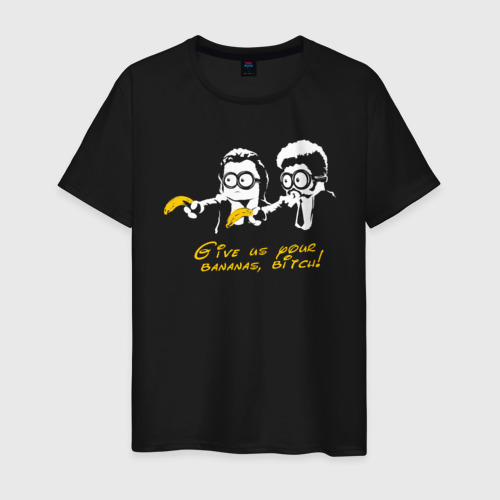 Мужская футболка хлопок Банановая мафия Фото 01