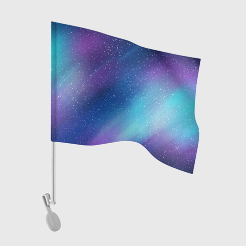 Флаг для автомобиля КРАСКИ КОСМОСА Фото 01