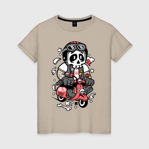 Женская футболка хлопок Scooter Фото 01