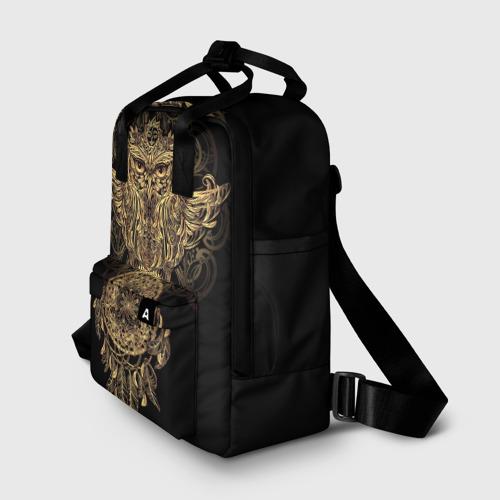 Женский рюкзак 3D Сова с ловцом Фото 01