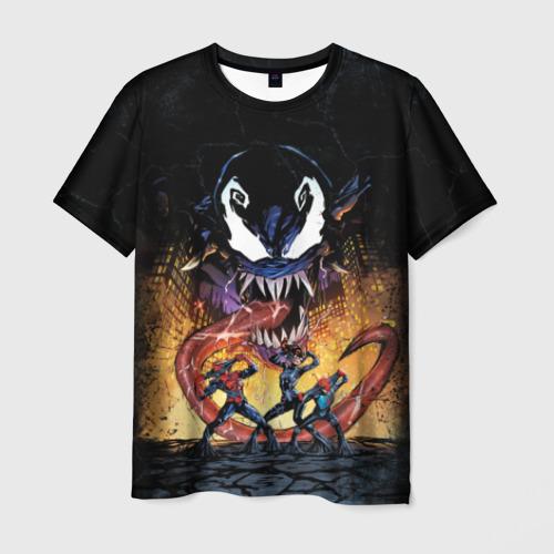 Мужская футболка 3D  Фото 03, Venom city