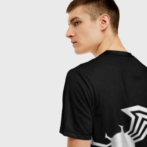 Мужская футболка 3D Venom spider Фото 01