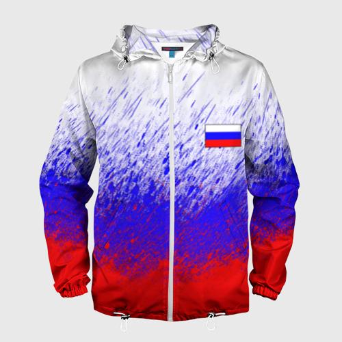 Мужская ветровка 3D Россия (Краска) Фото 01