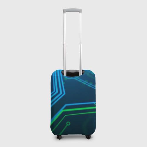 Чехол для чемодана 3D ПРОГРАММИСТ Фото 01