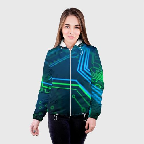 Женская куртка 3D ПРОГРАММИСТ Фото 01