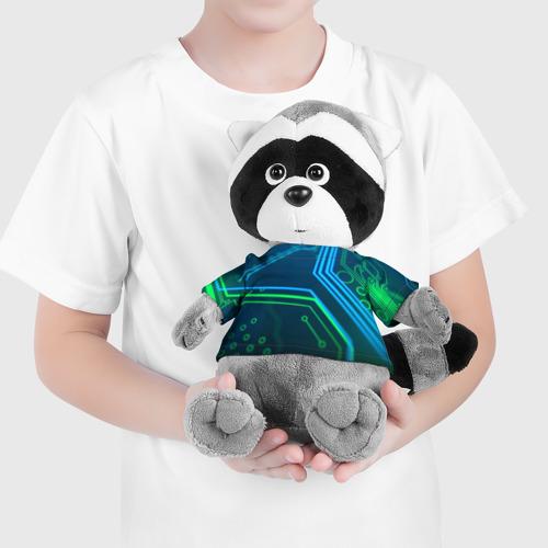 Енотик в футболке 3D ПРОГРАММИСТ Фото 01