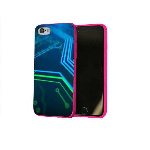 Чехол для Apple iPhone 8 силиконовый глянцевый ПРОГРАММИСТ Фото 01