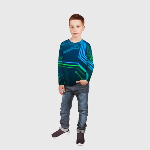 Детский лонгслив 3D ПРОГРАММИСТ Фото 01