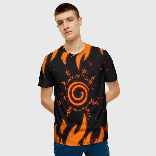 Мужская футболка 3D Наруто Печать 2 Фото 01