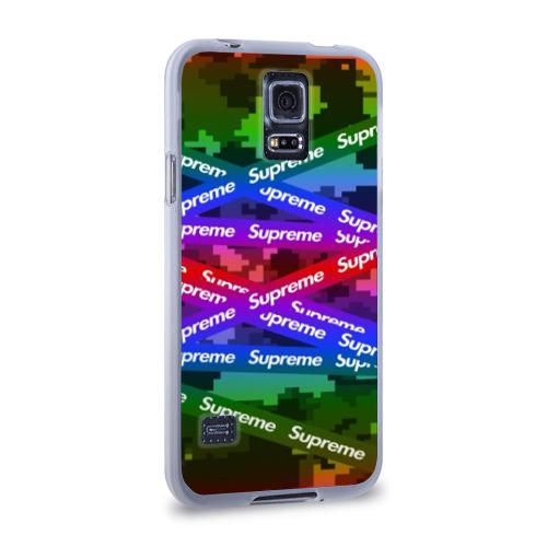 Чехол для Samsung Galaxy S5 силиконовый Supreme NEON Фото 01