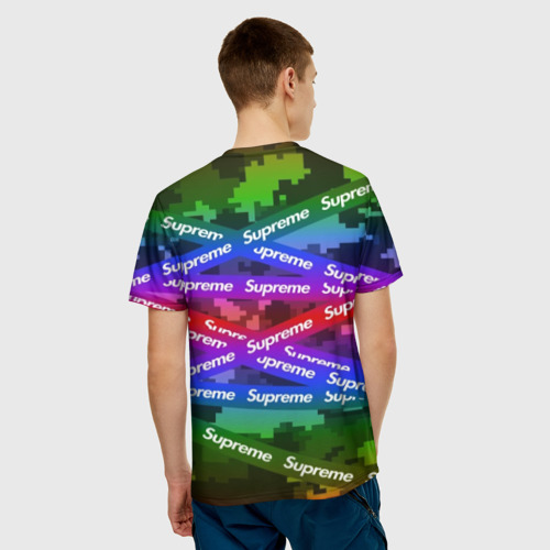 Мужская футболка 3D Supreme NEON Фото 01