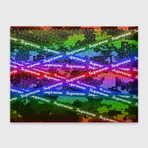 Обложка для студенческого билета Supreme NEON Фото 01