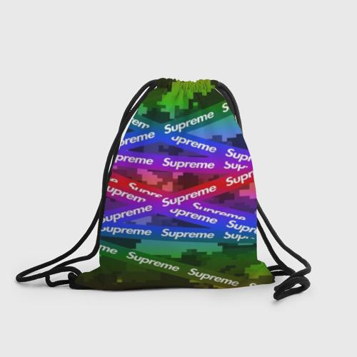 Рюкзак-мешок 3D Supreme NEON Фото 01