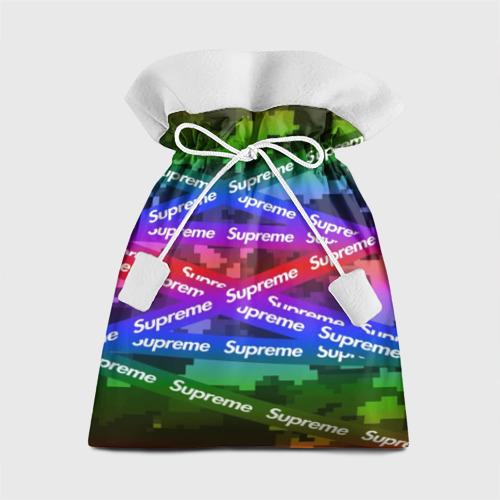 Подарочный 3D мешок Supreme NEON Фото 01
