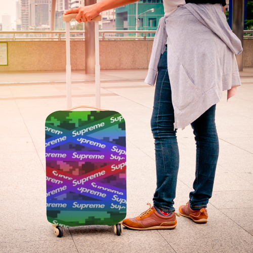 Чехол для чемодана 3D Supreme NEON Фото 01