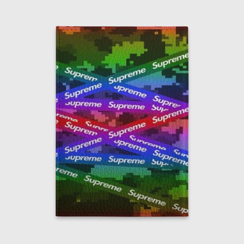 Обложка для автодокументов Supreme NEON Фото 01