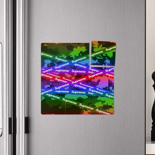 Магнитный плакат 3Х3 Supreme NEON Фото 01