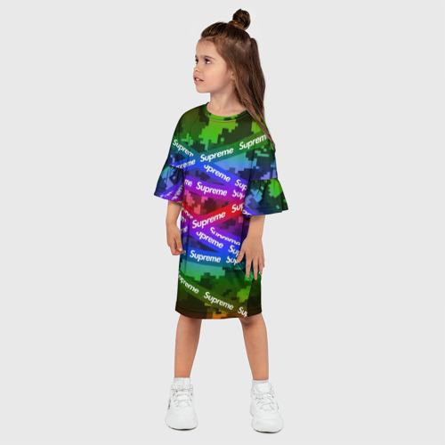 Детское платье 3D Supreme NEON Фото 01