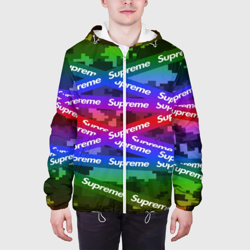 Мужская куртка 3D Supreme NEON Фото 01