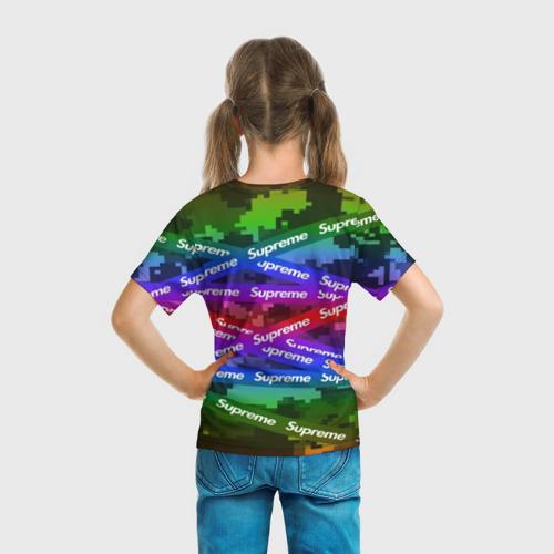 Детская футболка 3D Supreme NEON Фото 01