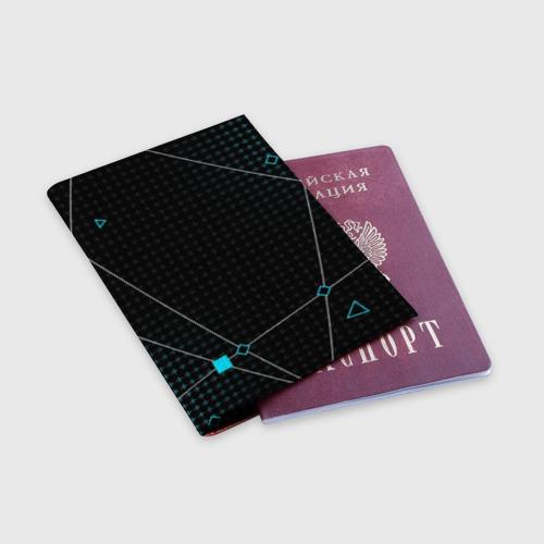 Обложка для паспорта матовая кожа ПРОГРАММИСТ Фото 01