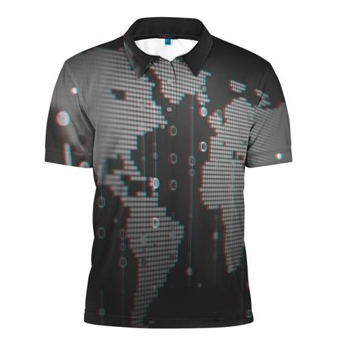 Мужская рубашка поло 3D ПРОГРАММИСТ