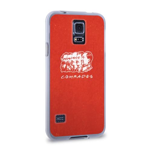 Чехол для Samsung Galaxy S5 силиконовый Comrades Фото 01