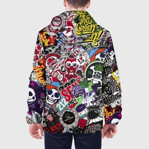 Мужская куртка 3D Stickerbombing New York Фото 01