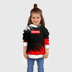 Supreme (Red and white paint)3 - интернет магазин Futbolkaa.ru