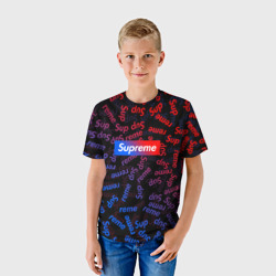 SUPREME BLUE AND RED