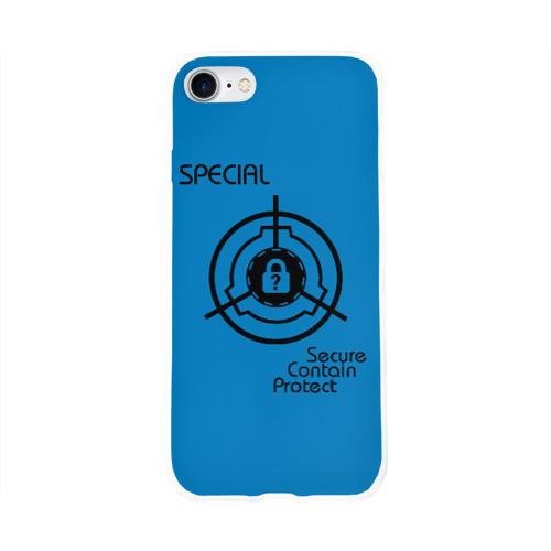 Чехол для Apple iPhone 8 силиконовый глянцевый SCP Special Фото 01