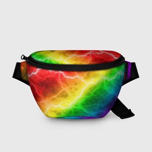 Поясная сумка 3D  RAINBOW THUNDER Фото 01