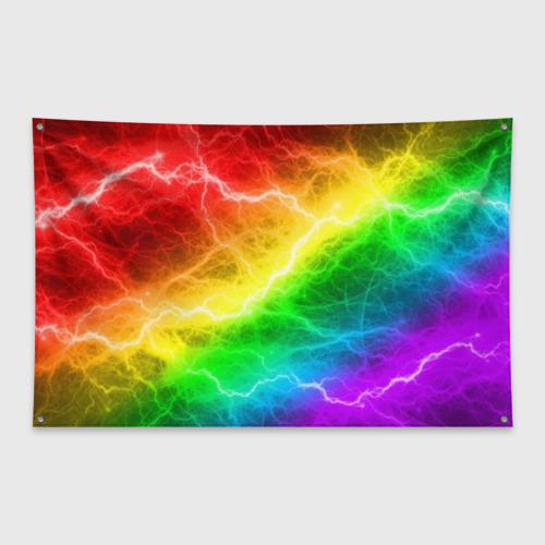 Флаг-баннер  RAINBOW THUNDER Фото 01