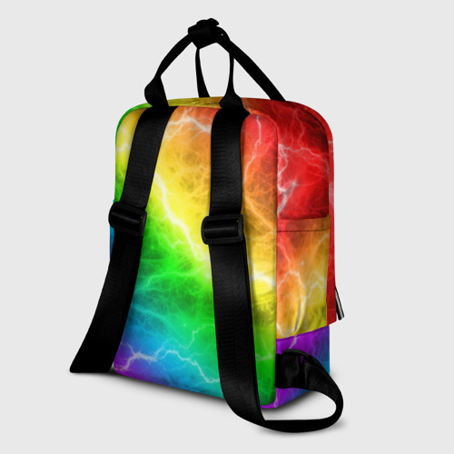 Женский рюкзак 3D  RAINBOW THUNDER Фото 01