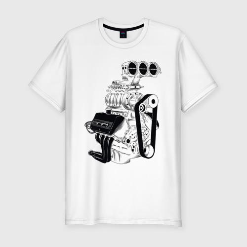 Мужская футболка премиум Engine Фото 01