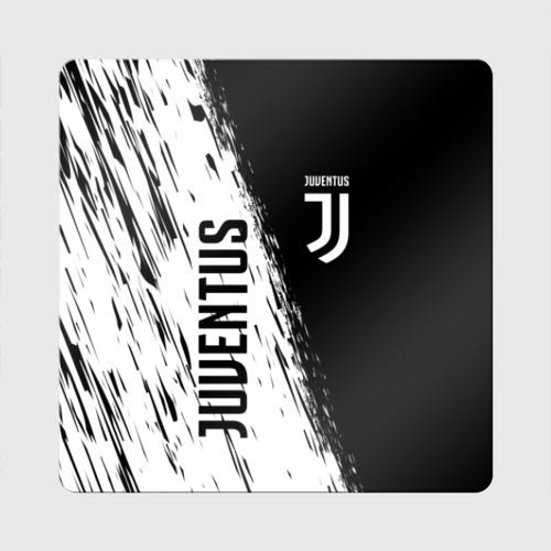 Магнит виниловый Квадрат JUVENTUS SPORT Фото 01